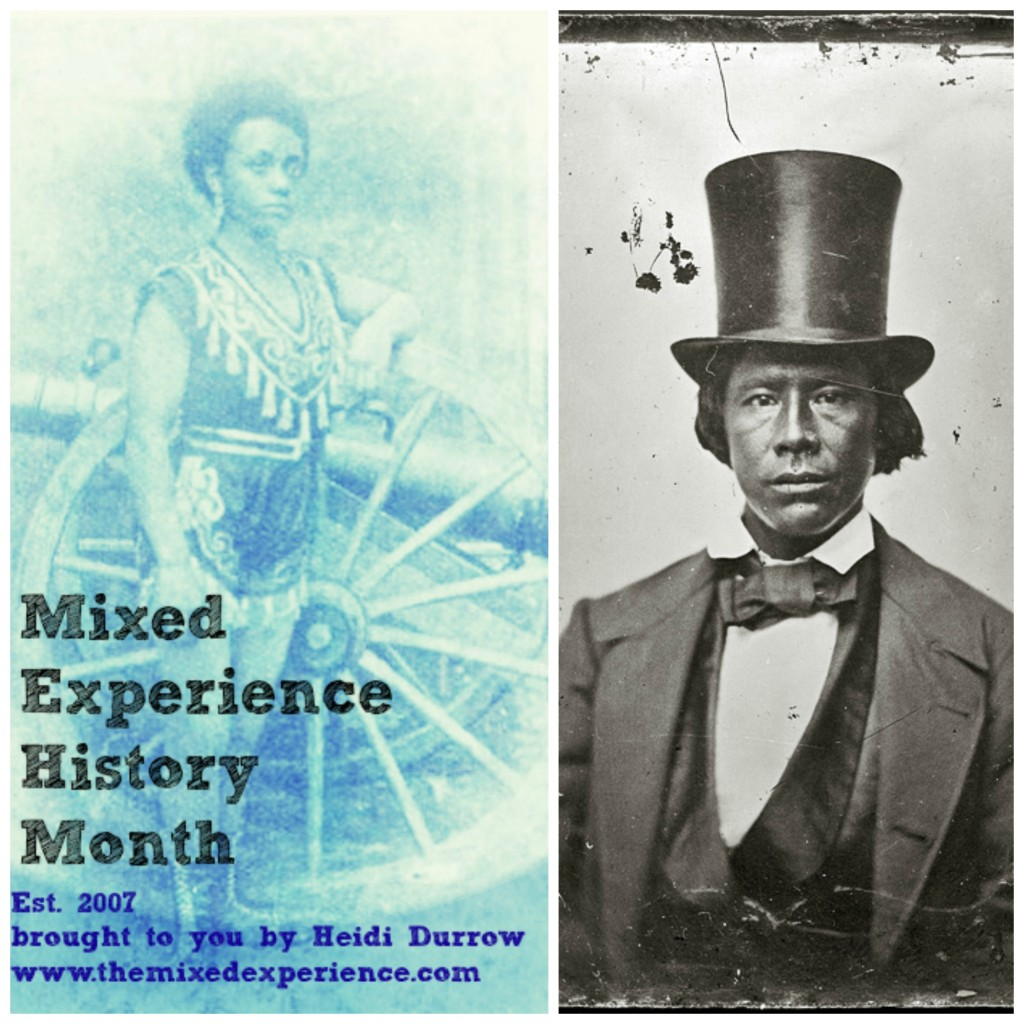 The Mixed Experience history Month