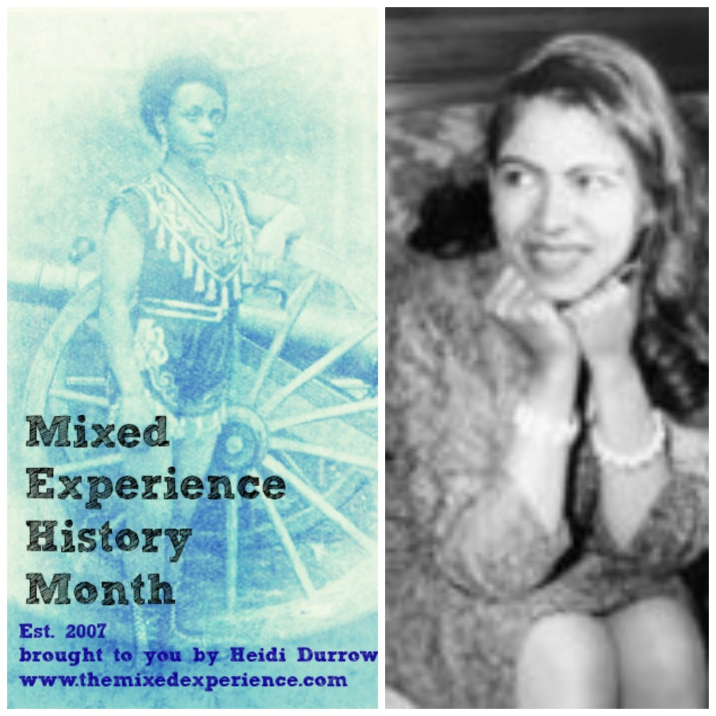 Mixed Experience History Month phillipa schuyler