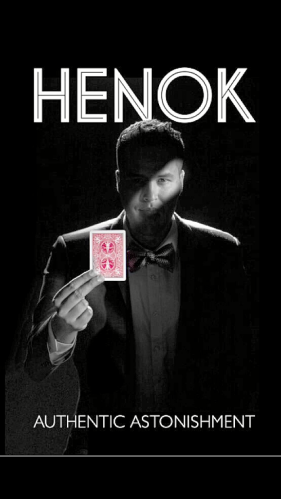 henok negash, mixed race magician