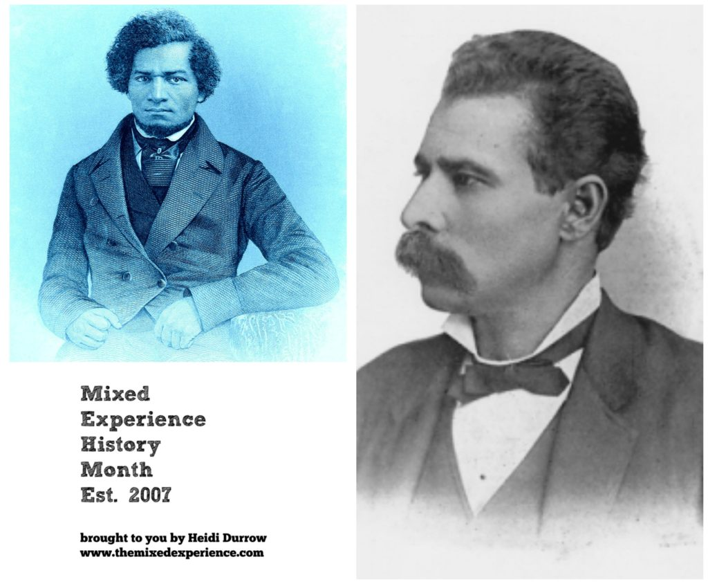 mixed race historical figures